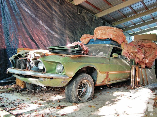 Rusty But Rare 1969 Ford Mach 1 This Would Be A