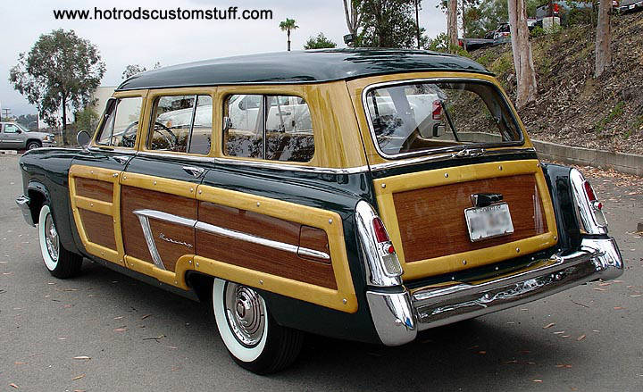 Mercury Woodie Station Wagon Pictures