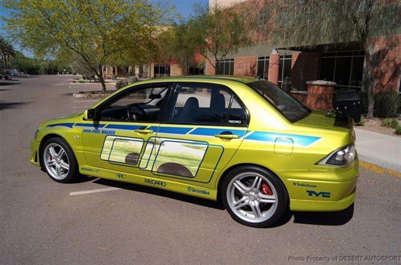 eBay-Paul-Walker's-Mitsubishi-Evo-from-2-Fast-2-Furious-5 - NO Car