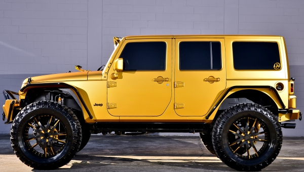 Matte Gold Jeep 8 No Car No Fun Muscle Cars And Power Cars
