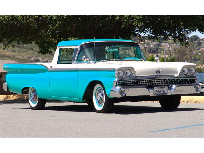 1959 Ford Ranchero - NO Car NO Fun! Muscle Cars and Power