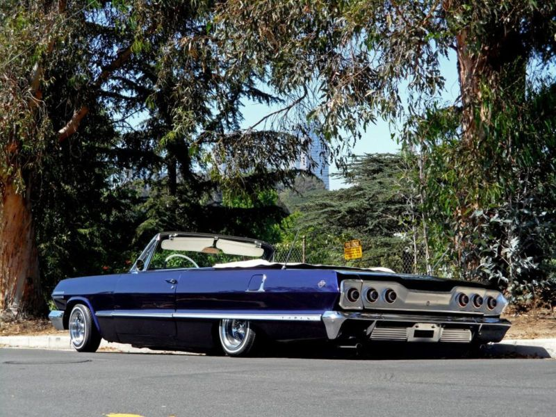 kobe bryant put his 1963 impala lowrider on ebay no car no. Black Bedroom Furniture Sets. Home Design Ideas