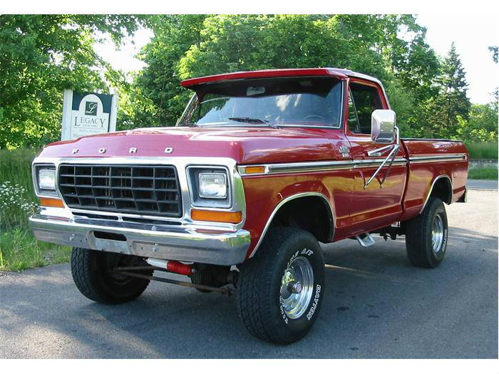 My Dad Took My Mom Out In This  U2013 1978 Ford F150 In