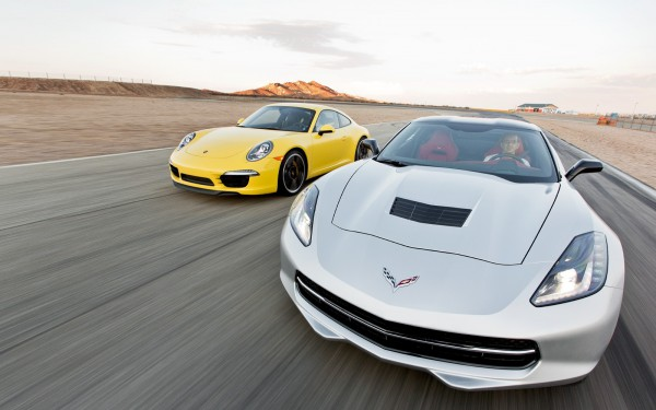 2014 Chevrolet Corvette Stingray vs. 2013 Porsche 911 Carrera S