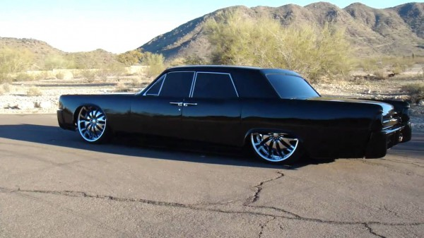 Bagged 1964 Lincoln Continental