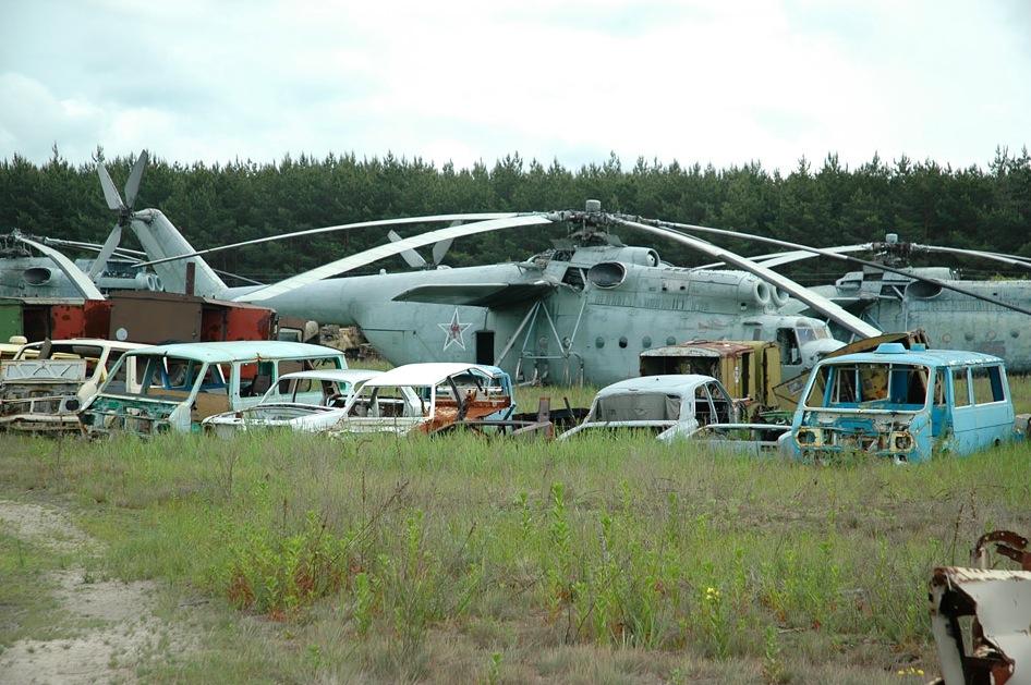 Chernobyl Vehicle Graveyard 3 No Car No Fun Muscle