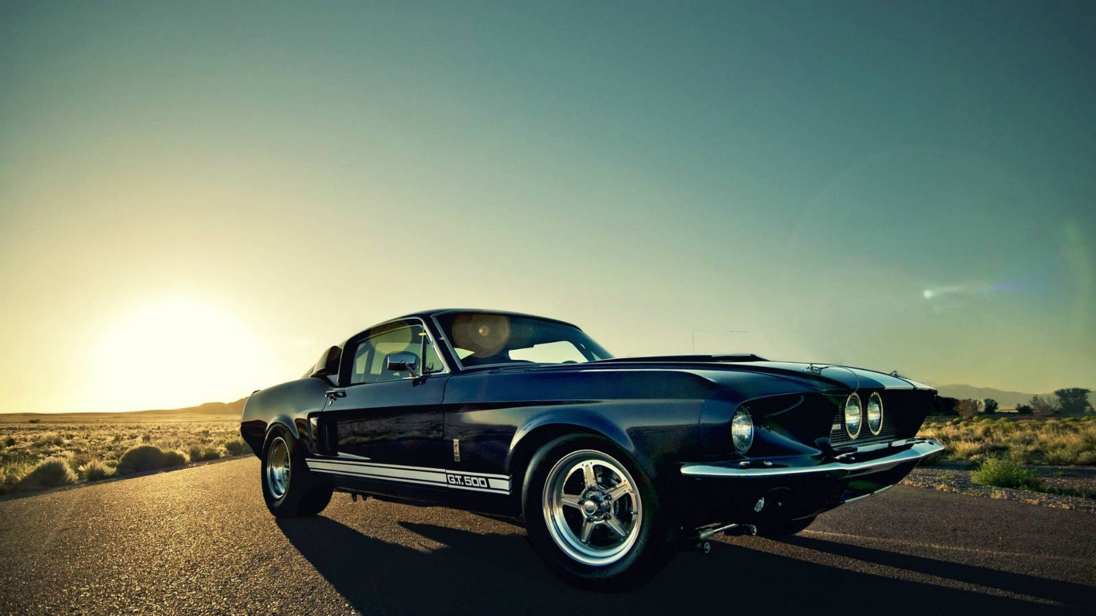 Ford Mustang Classic Cars Picture Idokeren