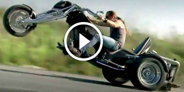 Muscle Car Rims >> MAMMOTH CUSTOM TRIKE Gets an Audi V8 Motor and GOES ...