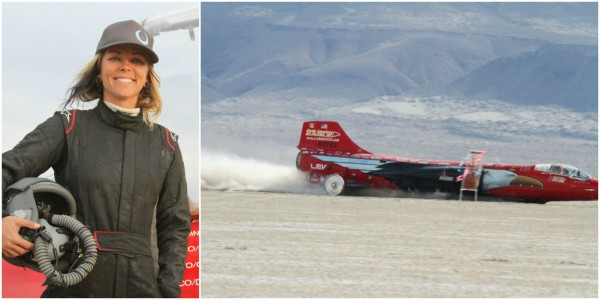 Fastest Car In The World 2015 >> Jessi Combs Becomes World's Fastest Woman on Four Wheels ...