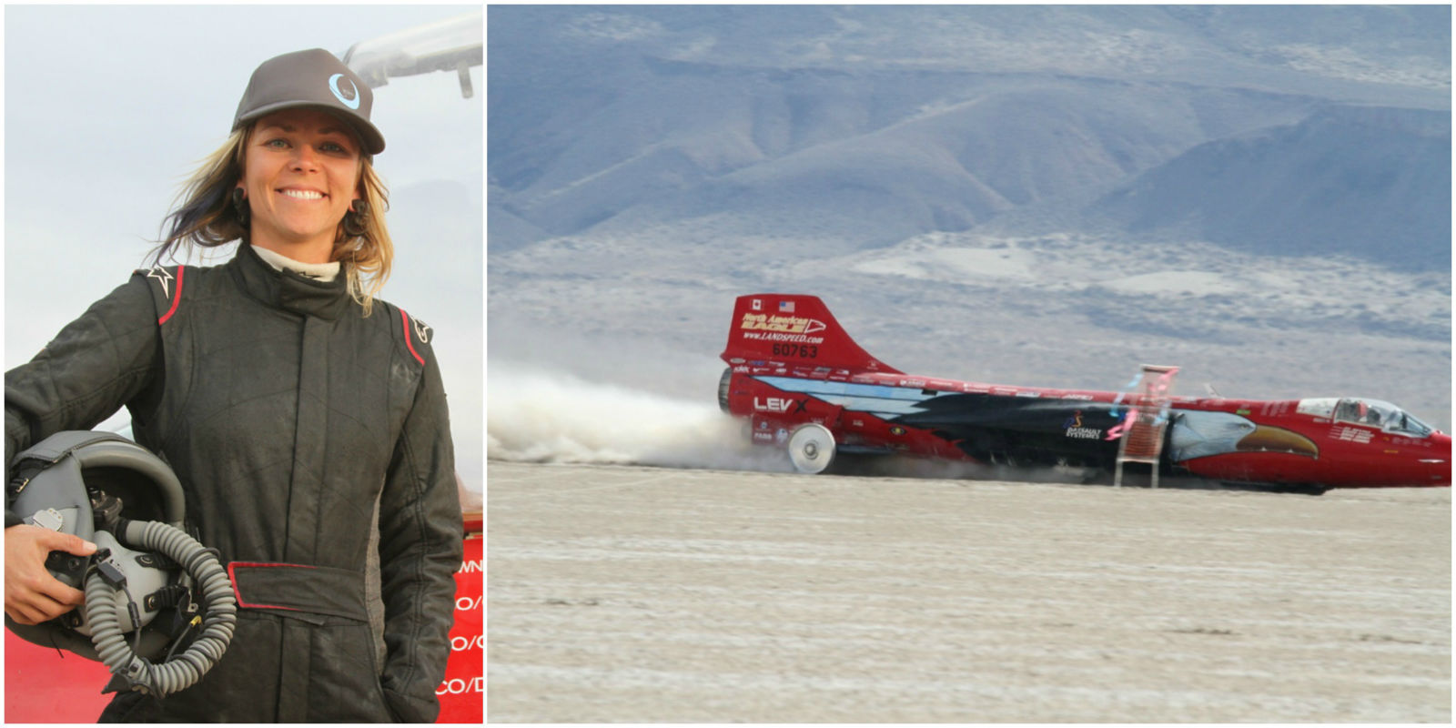 Jessi Combs Becomes World S Fastest Woman On Four Wheels