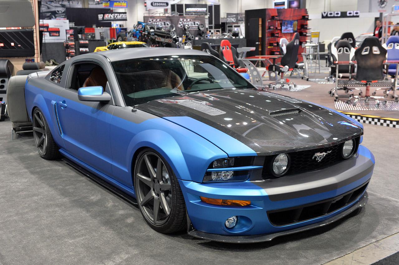 Sema 2013 Tmi Products 2005 Ford Mustang No Car No Fun