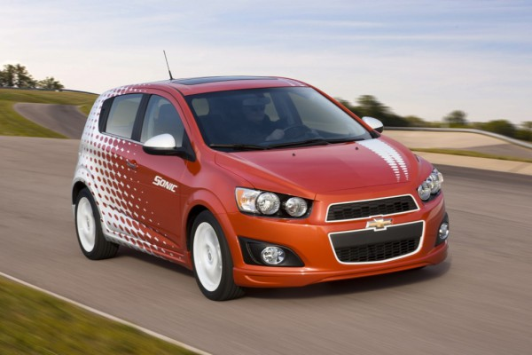 2013 Chevrolet Sonic Hatchback ($14,795)