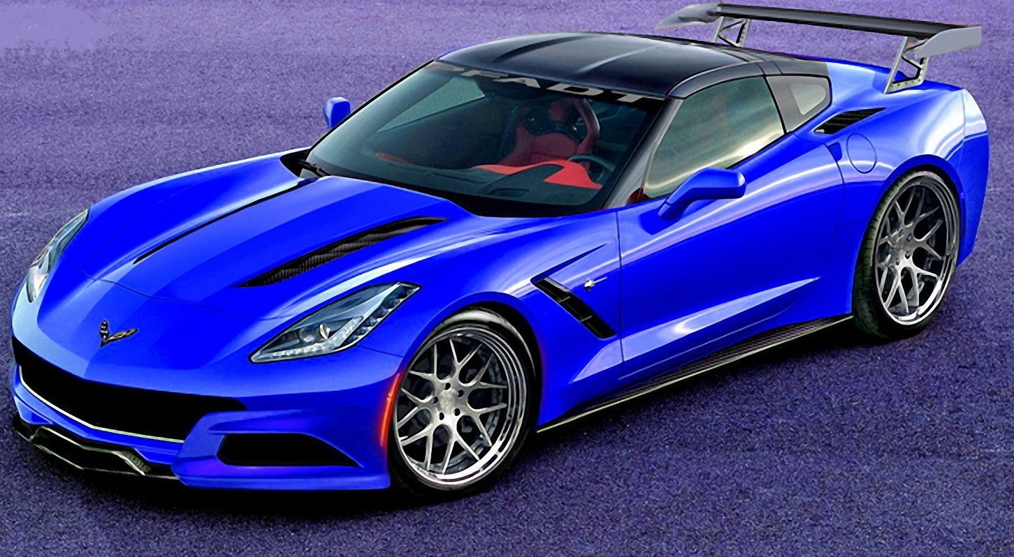 2014 Chevrolet Corvette Stringray P58 Concept By Tzd