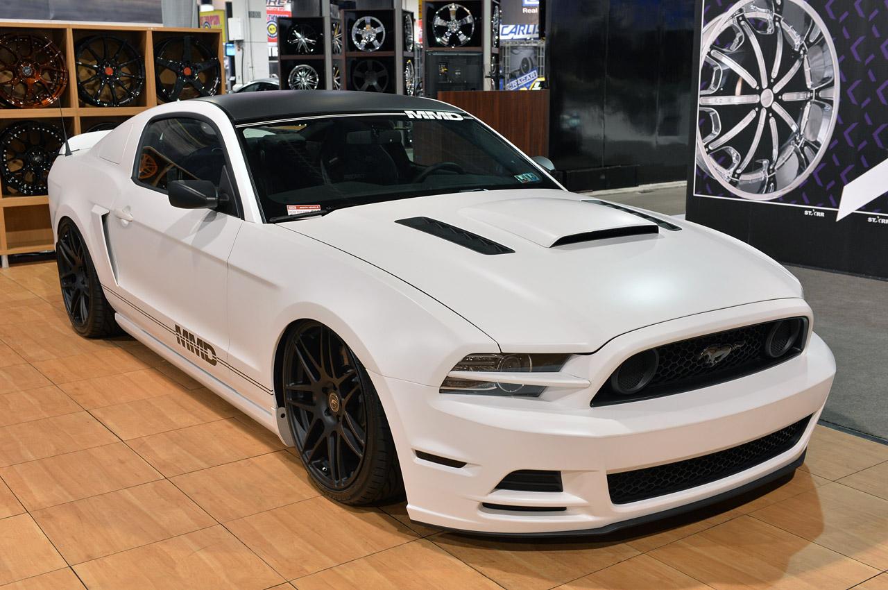 SEMA 2013: Modular Muscle Design 2014 Ford Mustang - NO Car NO Fun ...