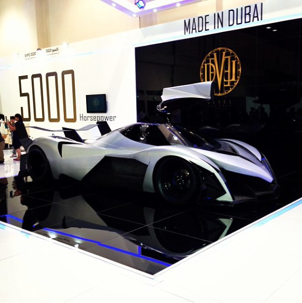 5 000hp devel sixteen v16 hypercar. Black Bedroom Furniture Sets. Home Design Ideas