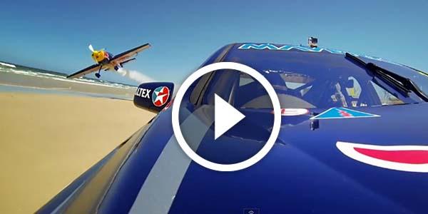 Red Bull Racing Australia: V8 Supercar vs. Aerobatic Plane