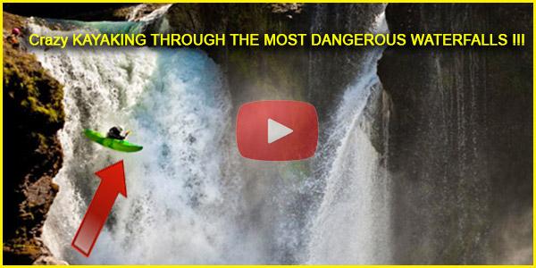 2015 Dodge Magnum >> Crazy KAYAKING THROUGH THE MOST DANGEROUS WATERFALLS On ...