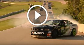 MONSTER DRIFT - Road America - FORD MUSTANG AT ITS BEST! I love the Sound The Look and Show!