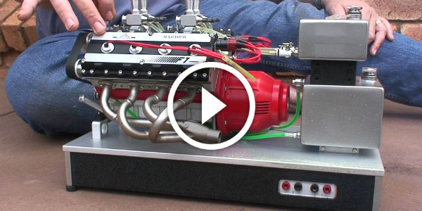 OMG! HAND-MADE V8 Nitro Engine – THIS COULD POWER YOUR YACHT! I'm So Jealous…!