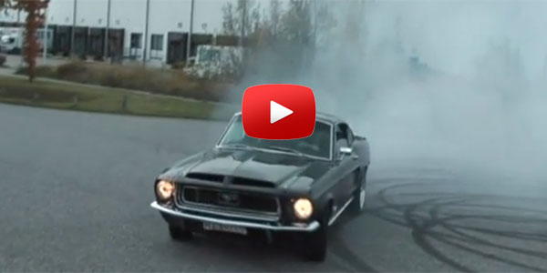 Want Donuts? Ford Mustang 1968 Fastback Shelby is cooking