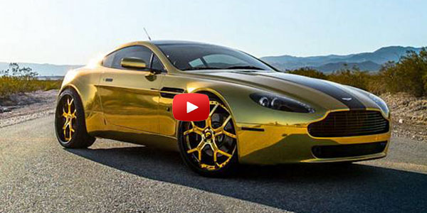 ASTON MARTIN - ALL GOLD MONSTER