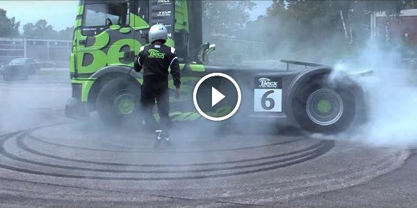 Holden Truck Drift
