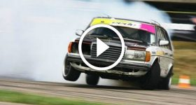 Diesel MERCEDES FROM HELL Doing DRIFT WONDERS