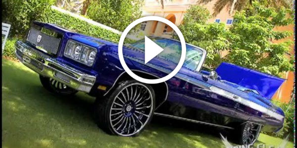 Muscle Car Rims >> LEBRON JAMES DRIVES THIS - LIKE IT? CELESTIAL 1975 Chevy ...