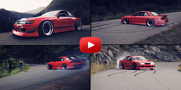 Nick Schnell - GLIDING His Nissan 240SX 1JZ