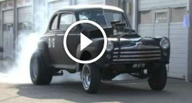 48 Ford Coupe Gasser