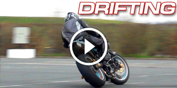 DRIFTING MOTORBIKE – Showing SKILLS and Chased by POLICE at F1 Magny-Cours Circuit!