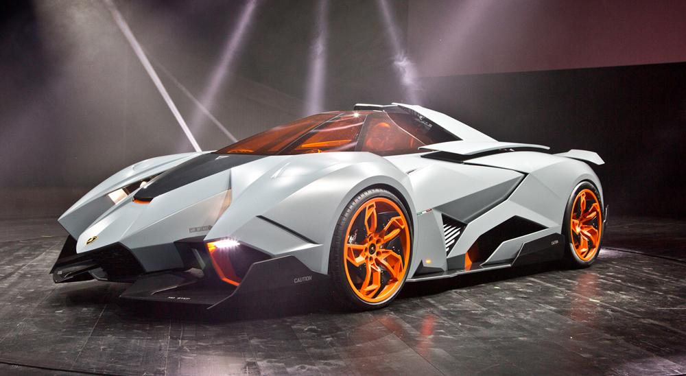 Lamborghini Egoista Now On Display Limited And