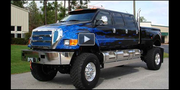 "THIS IS NO LIE ""Lie"" F650 Six Door Supertruck is AWESOME"
