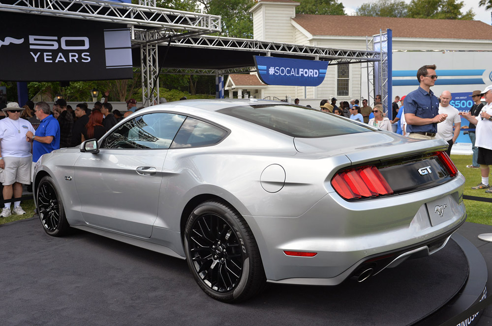 ford mustang silver 1