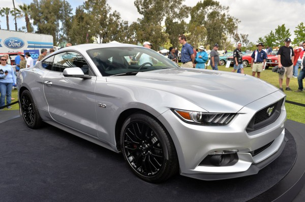 ford mustang silver 2