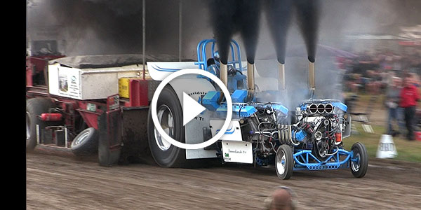 2 Vids and 3 ENGINES – WORLD-CLASS SLEDGEHUMMER Tractor Pulling PERFORMANCE!