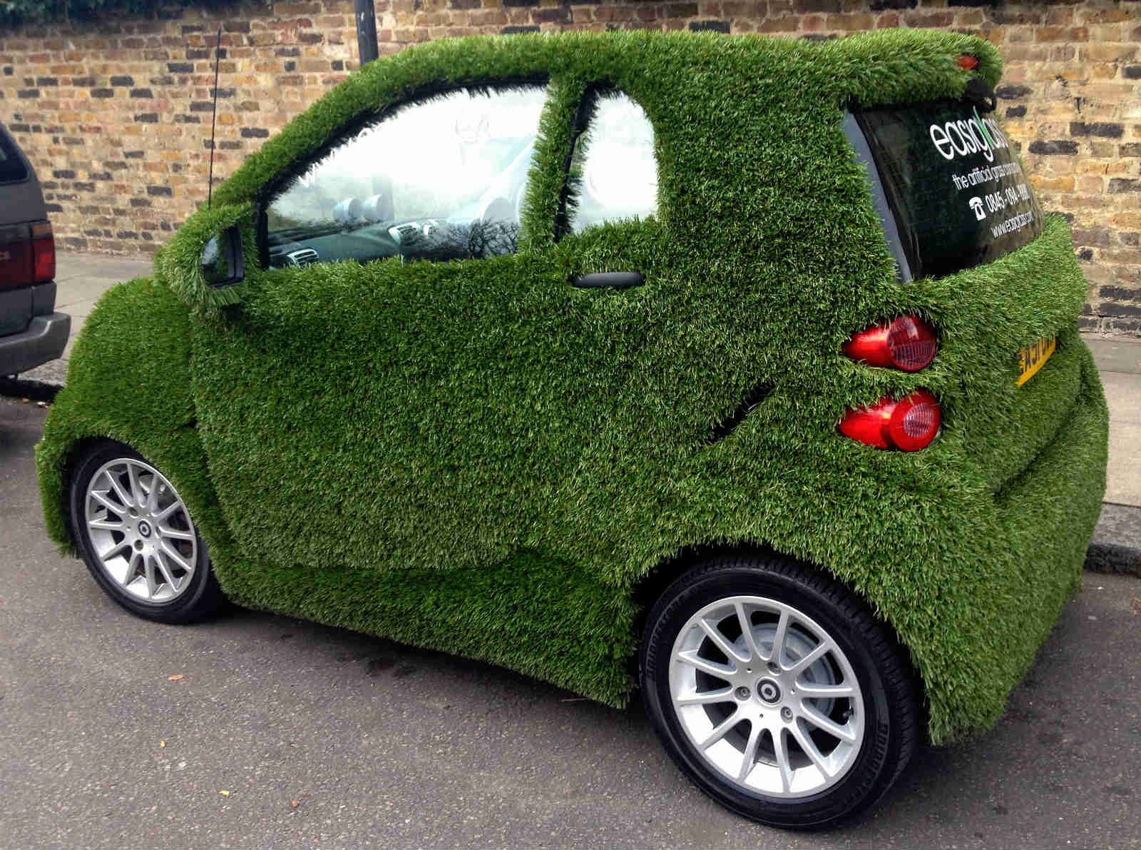 Green Grass Car No Car No Fun Muscle Cars And Power Cars