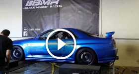 MONSTER BLUE NISSAN GTR-R34 Scream Baby Scream