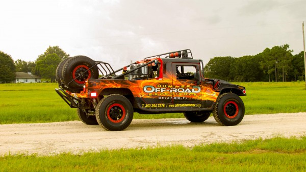 Off Road Fire Hummer