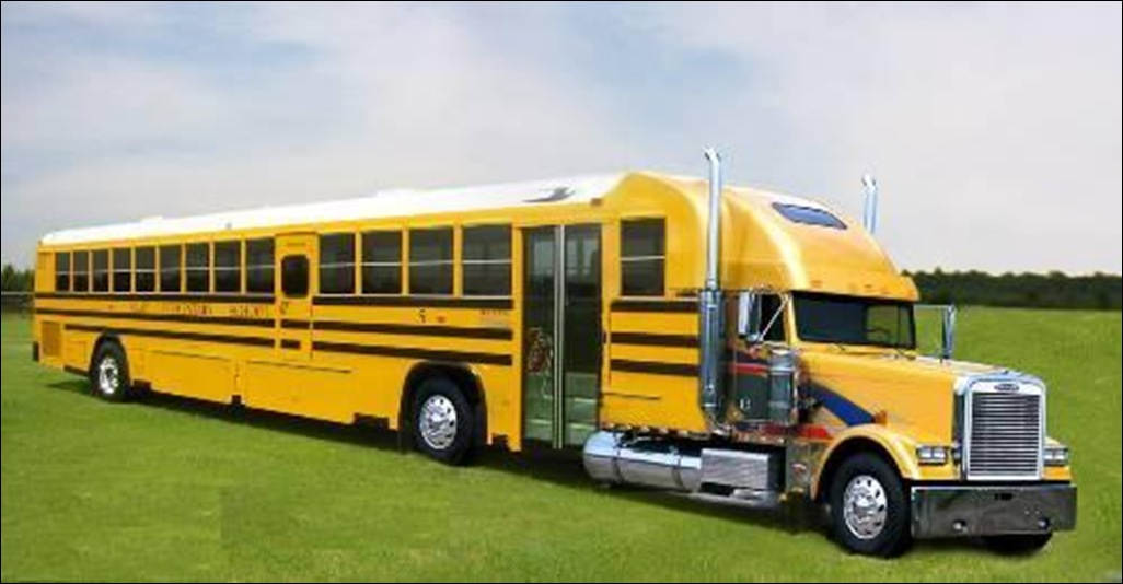 School Bus Heavy Truck - NO Car NO Fun! Muscle Cars and ...