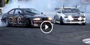 DRIFTING BATTLE between Adam Frank and Nicolo Rosso