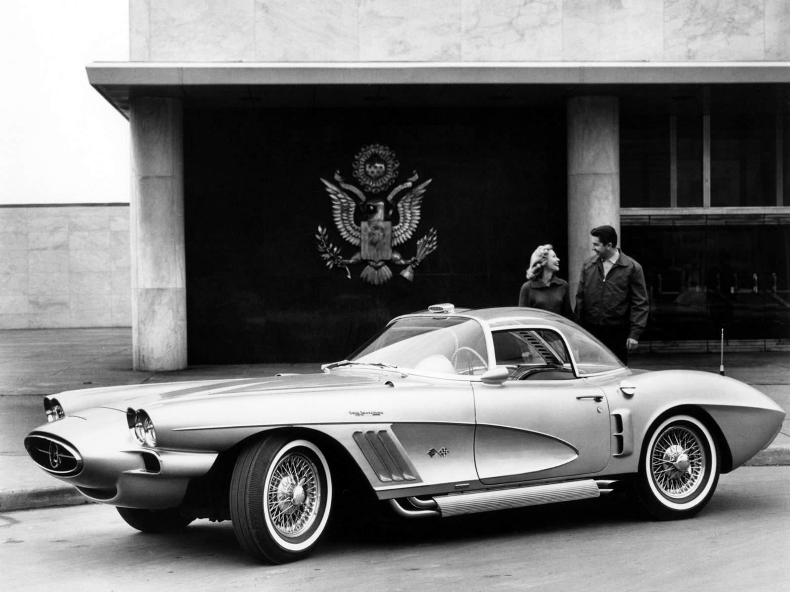 1958 Chevrolet Corvette Xp 700 Concept Car Left Side View