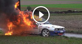 300 HP BMW Crash and Explosion