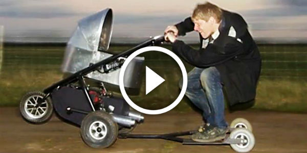 Omg Take A Look At This Baby Carriage That Runs Over 30