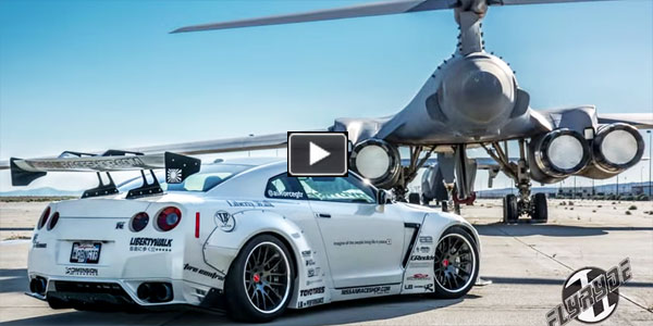 Nissan GTR With Widebody From Liberty Walk