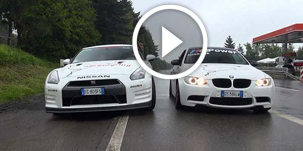 Won't Believe This! Nissan R35 GT-R In Another Battle With