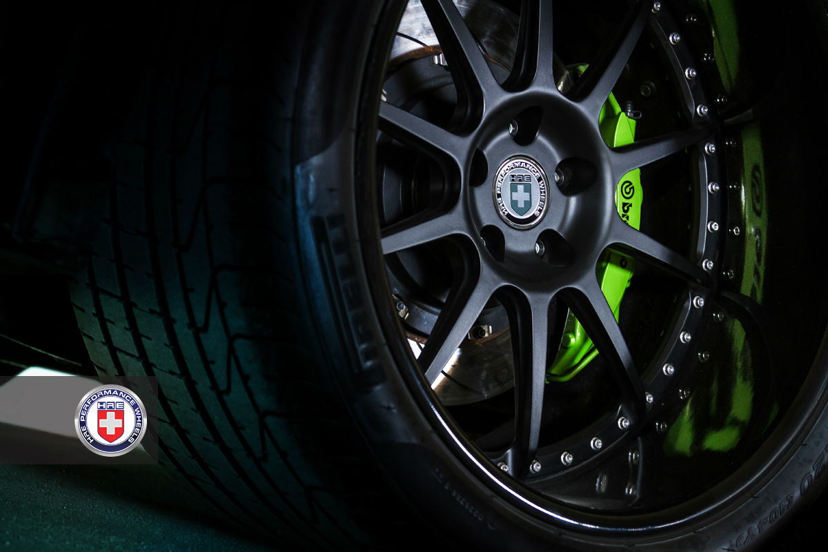 Green Hulk Widebody Nissan Gtr From Jotech On Hre Wheels