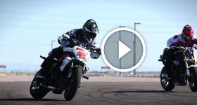 supermoto drifting