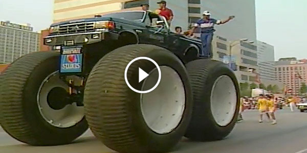Can You Image How Huge This Truck Is Bigfoot 5 Monster