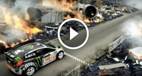 Ken Block's Insane Driving
